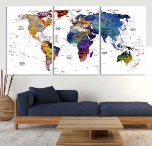 Wall World Map
