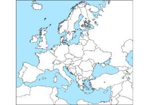Blank Map Of Europe 1 pdf