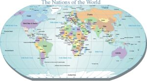 Detailed World Map PDF