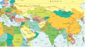 Map Of Europe And Asia