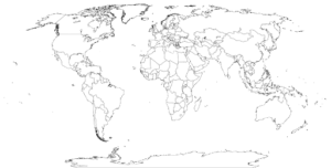 Printable Blank World Map