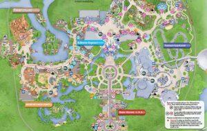 Printable Map of Disney World
