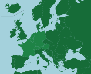 Western Europe Map/Geography