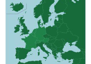 Western Europe Map 1 pdf