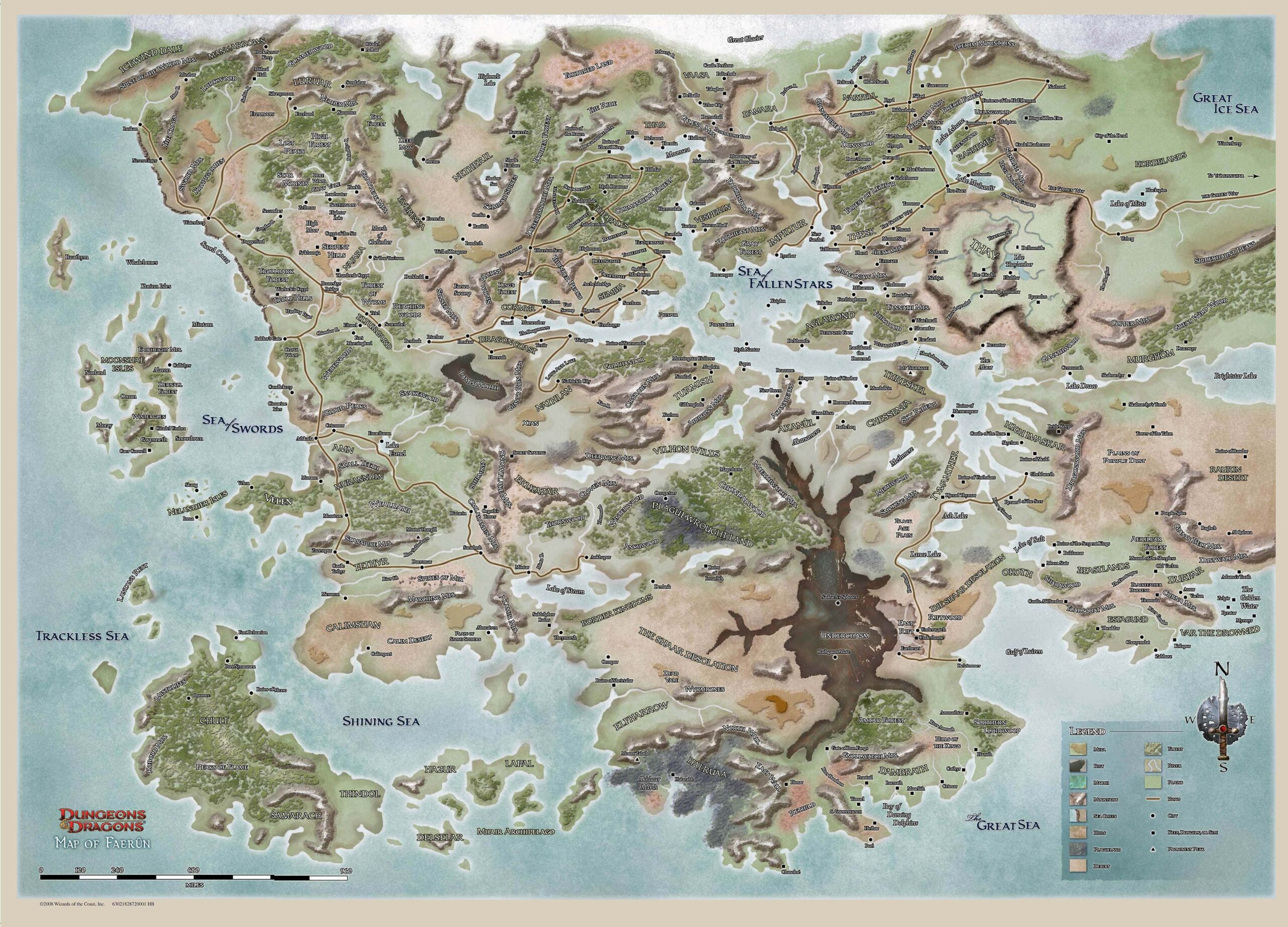 D&D 5e World Map