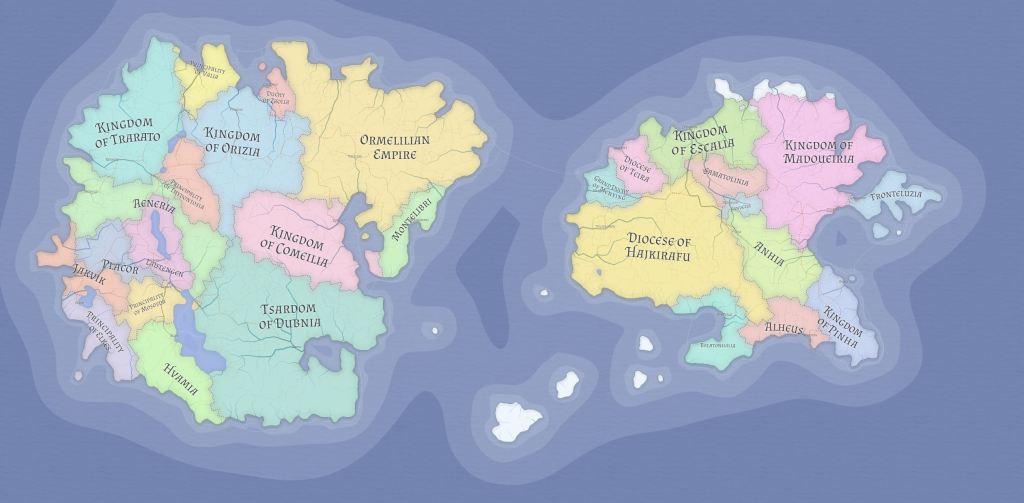 D&D World Map Generator