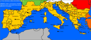 Southern Europe Maps