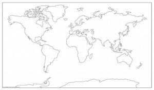 World Physical Map PDF