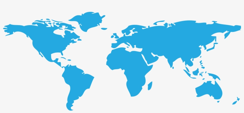 Transparent PNG World Map