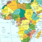 Labeled Map of Africa